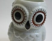 Vintage Owl Planter or Cup