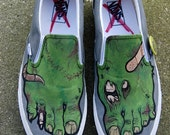 Zombie Shoes (hand-painted)