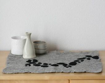 Cascade - Felt Table Centerpiece/Placemat