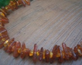 Pure Fire- Amber Necklace