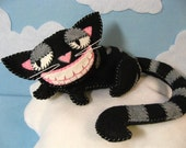 Large Smiling Cheshire Cat Preorder in custom colors