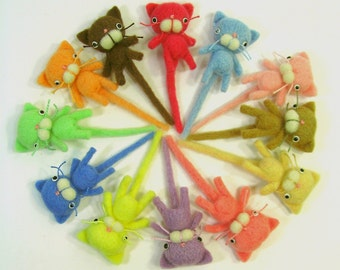 Mini Kitty in Your Color Choice MADE-TO-ORDER