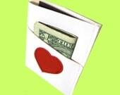 Heart ) Mini Card Wallet