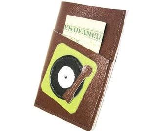 Turntablism ) Mini Card Wallet
