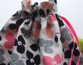 Stella's Project Bag - Feedsack Flowers - New Fabric