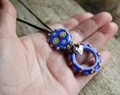 My Cheyenne Lampwork Necklace