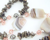 Soft romance necklace