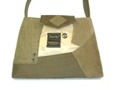 Handbag from recycled / upcycled suit coats - Alexander No.312 - ships Priority