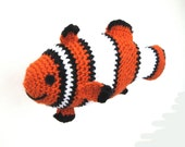 Coco the Clownfish PDF Crochet Pattern