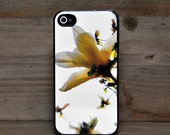 Phone Case - Yellow Magnolia Photo - Hard Case for iPhone 4, 4s, 5, 5s, 5c, 6, 6 Plus - iPod Touch 4, 5 - Galaxy S3, S4, S5