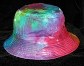 Adult Rainbow Tye Dye Bucket Hat