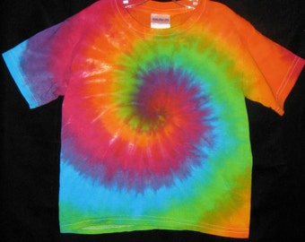 Over the Rainbow Tye Dye Tshirt Toddler 3T