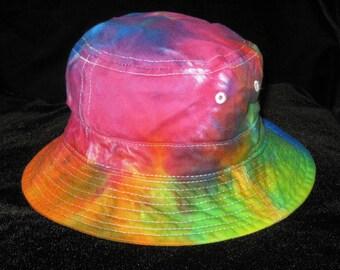 Over the Rainbow Tye Dye Gilligans Island Bucket Hat Toddler