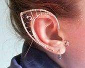 Custom silver elf ears