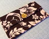 Fabric Clutch in Promenade