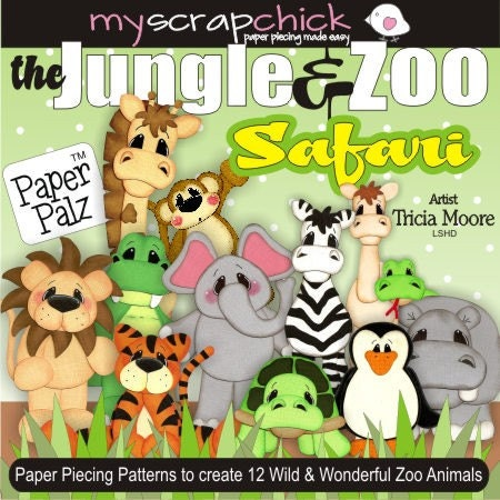 Paper Piecing Animals | eBay - Electronics, Cars, Fashion