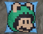 Super Mario Brothers Frog Mario pillow