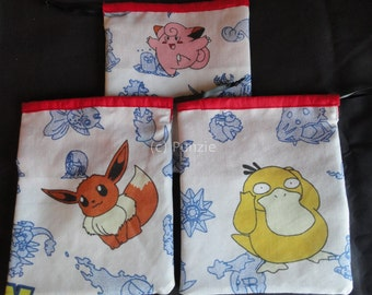 Pokemon reversible dice bag