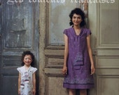 FRENCH FABRICS Mom and Child Clothes - Japanese Book