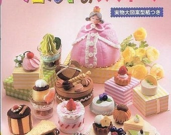 SWEET FELT SWEETS - Japanese Craft Book