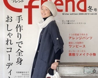 COTTON FRIEND 2009 WINTER - Japanese Craft Book