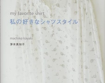 MY FAVORITE SHIRT - Japanese Pattern Book