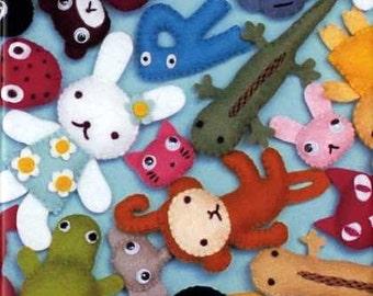 Aranzi Aronzo Felt Mascots - Japanese Craft Book
