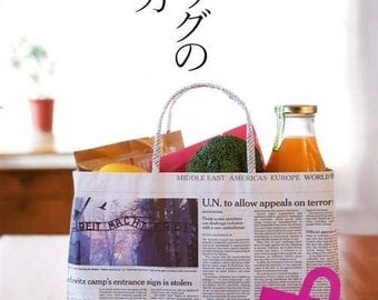 Bags Made from Newspaper - Japanese Craft Pattern Book