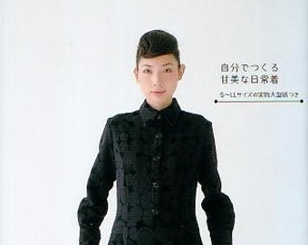 FAVORITE BLACK CLOTHES Patterns - Japanese Craft Book