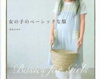 BASICS FOR GIRLS - Japanese Dress Pattern Book