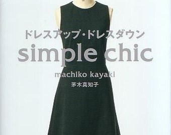 SIMPLE CHIC - Japanese Craft Book Dress Patterns
