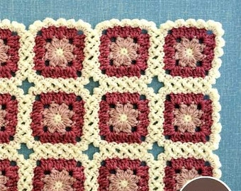 Oshare CROCHET MOTIF GOODS - Japanese Craft Book