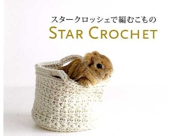 STAR CROCHET ITEMS - Japanese Craft Book
