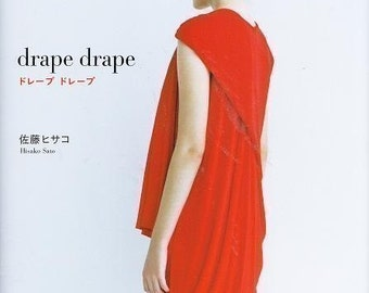 DRAPE DRAPE DRESSES - Japanese Craft Pattern Book