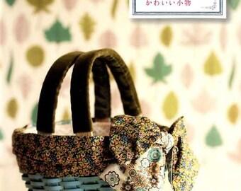 Liberty Print Fabrics Cute Items - Japanese Craft Book