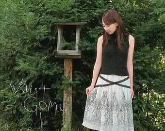 Elasticized Waist NICE SKIRTS - Japanese Craft Book