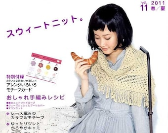 Marche Crochet and KNIT ZAKKA VOL 11 - Japanese Craft Book