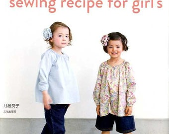 Sewing Recipe for Girls - Japanese Craft Book