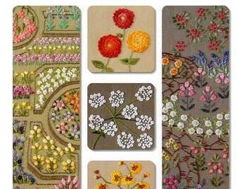 Kawaii Embroidered Flowers - Japanese Craft Book
