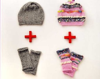 Oshare Colorful Knit Items - Japanese Craft Book