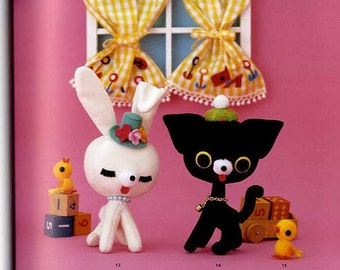 Ayumi Uyama Mascot Album - Japanese Craft Book