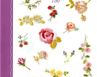 Embroidery Best Stitch 750 - Japanese Craft Book