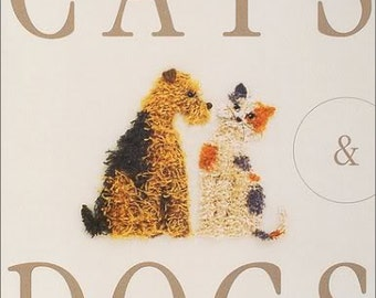 DOGS & CATS EMBROIDERY - Japanese Craft Book