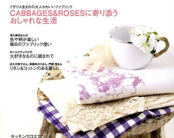 Craft Cafe LINEN and COTTON PART 7 - Japanese Craft Book