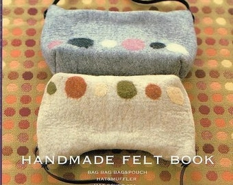 Out of Print / HANDMADE FELT BAGS - Japanese Craft Book