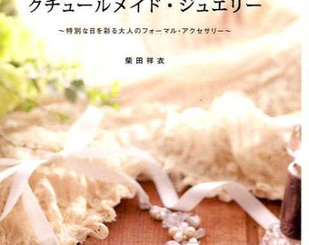 Couture Housemade Beaded Jewerly - Japanese Beading Craft Book