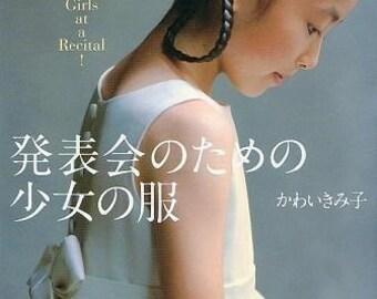 GIRLS at a RECITAL - Japanese Dress Pattern Book MM