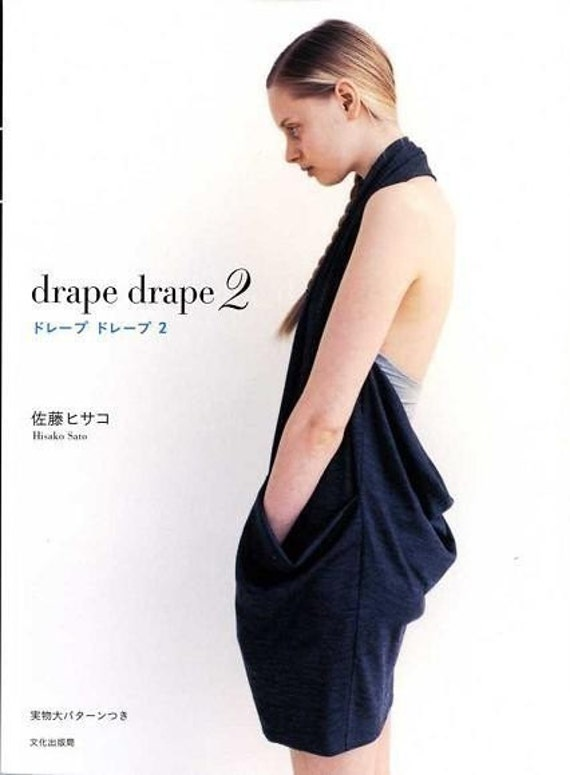 DRAPE DRAPE DRESSES Vol 2 - Japanese Craft Pattern Book