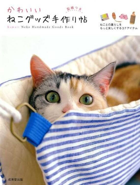 Kawaii Neko Cats Handmade Goods - Japanese Craft Book