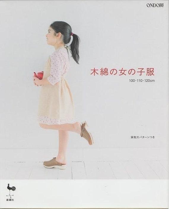 ONDORI GIRLS COTTON CLOTHES - Japanese Dress Pattern Book